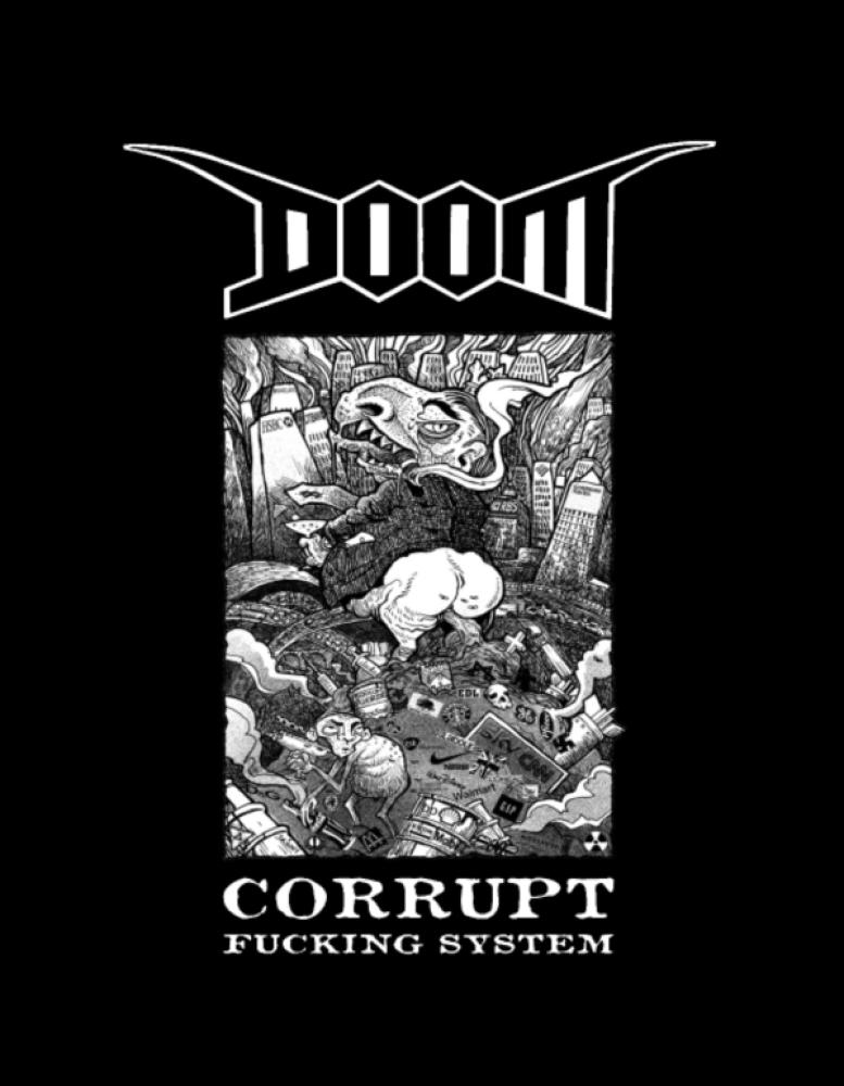 doom t-shirt backpatch