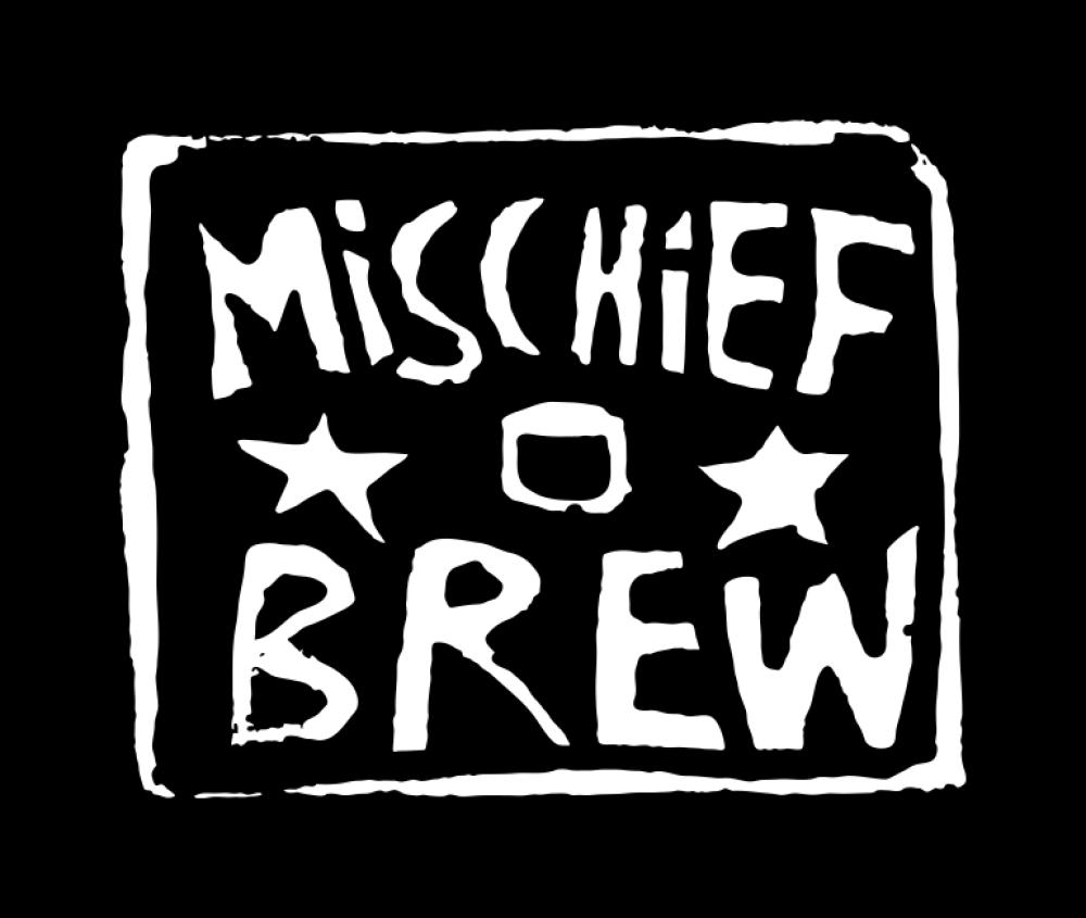 mischief brew t-shirt backpatch