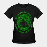 T-shirt féminin You can jail the resisters... but you can't jail the resistance!