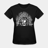 T-shirt féminin No forest, no future - plant trees