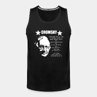 Camisole ♂ Chomsky - Anarchism means peace and tranquility to all