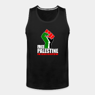 Camisole ♂ Free palestine end israeli occupation