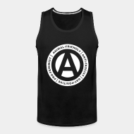 Camisole ♂ Animal-friendly / anti-fascist / gay-positive / pro-feminist