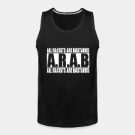 Camisole ♂ A.R.A.B. All Racists Are Bastards