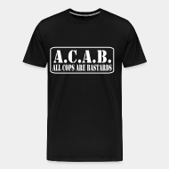 T-shirt Xtra-Large A.C.A.B. All Cops Are Bastards
