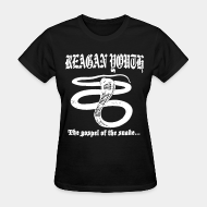 T-shirt féminin ♀ Reagan Youth - The gospel of the snake
