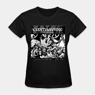 T-shirt féminin ♀ Contravene - A call to action