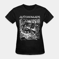 T-shirt féminin ♀ Autonomads - from rusholme with dub