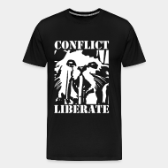 T-shirt Xtra-Large Conflict - liberate