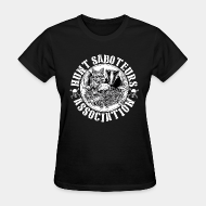 T-shirt féminin ♀ Hunt saboteurs association