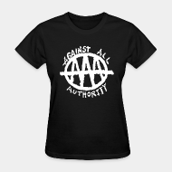 T-shirt féminin Against All Authority - AAA