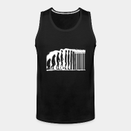 Camisole ♂ Evolution barcode