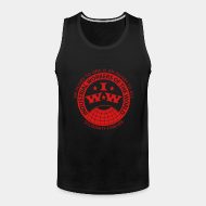 Camisole ♂ IWW - Industrial Workers of the World - an injury to one is an injury to all - solidarity forever