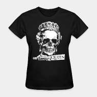 T-shirt féminin ♀ God save the Queen