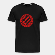 T-shirt Xtra-Large Red & anarchist skinheads