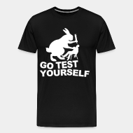 T-shirt Xtra-Large Go test yourself