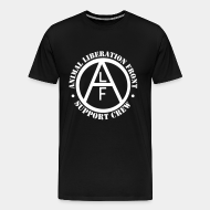 T-shirt Xtra-Large ALF Animal Liberation Front support crew