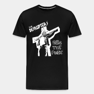 T-shirt Xtra-Large The disrupters - Gas the punx