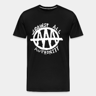 T-shirt Xtra-Large Against All Authority - AAA