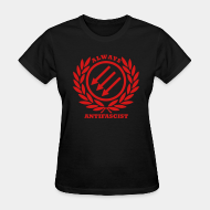 T-shirt féminin ♀ Always antifascist