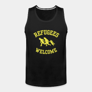 Camisole ♂ Refugees welcome
