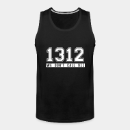 Camisole ♂ 1312 we don't call 911