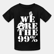 T-shirt enfant We are the 99%