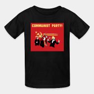 T-shirt enfant Communist party!