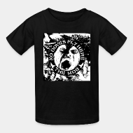 T-shirt enfant The Mob - No doves fly here