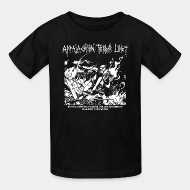 T-shirt enfant Appalachian Terror Unit - We will continue to break the law and destroy property until we win