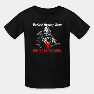 T-shirt enfant Behind Enemy Lines - The global cannibal