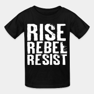 T-shirt enfant political anarchism revolution communism anti capitalism