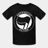 T-shirt enfant Antifascist action