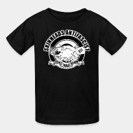 T-shirt enfant Skinheads antifascist - fight nazi scum