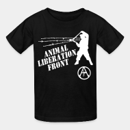 T-shirt enfant Animal Liberation Front - ALF