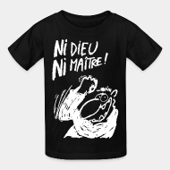 T-shirt enfant anti religion atheisme