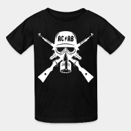 T-shirt enfant acab all cops are bastards anti police brutality