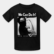 T-shirt enfant We can do it! anarchism - direct action - solidarity