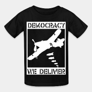 T-shirt enfant Democracy we deliver