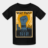 T-shirt enfant May first unite! the mighty nintey nine