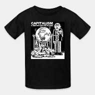 T-shirt enfant Capitalism is destroying our planet