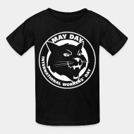 T-shirt enfant May day international workers' day