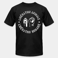 Produit local animal liberation vegetarian vegan ALF animal liberation front