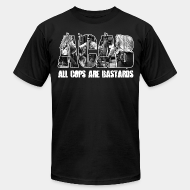 Produit local acab all cops are bastards anti police brutality