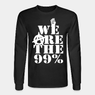 Chandail à manches longues We are the 99%