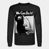 Chandail à manches longues We can do it! anarchism - direct action - solidarity