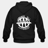 Hoodie à fermeture éclair Against All Authority - AAA