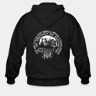 Hoodie à fermeture éclair Nuclear Death Terror - As we consume shall we be consumed as we destroy be destroyed