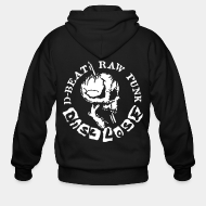 Hoodie à fermeture éclair Disclose - D-Beat raw punk
