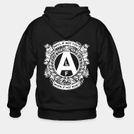Hoodie à fermeture éclair ALF - who, if not you? when, if not now?